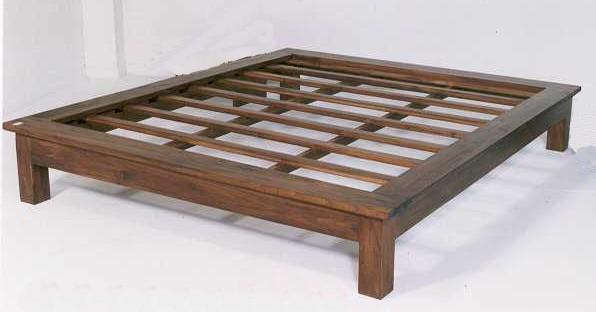 idees camera letto » letti in legno massello - galleria design di ... - Letto Sommier Una Piazza E Mezza