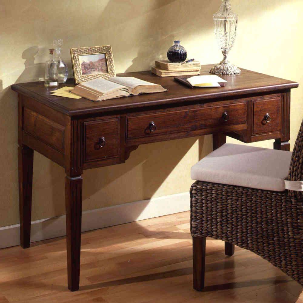 Scrivania etnica stunning scrivania in legno laccato nero for Arredamento etnico brescia