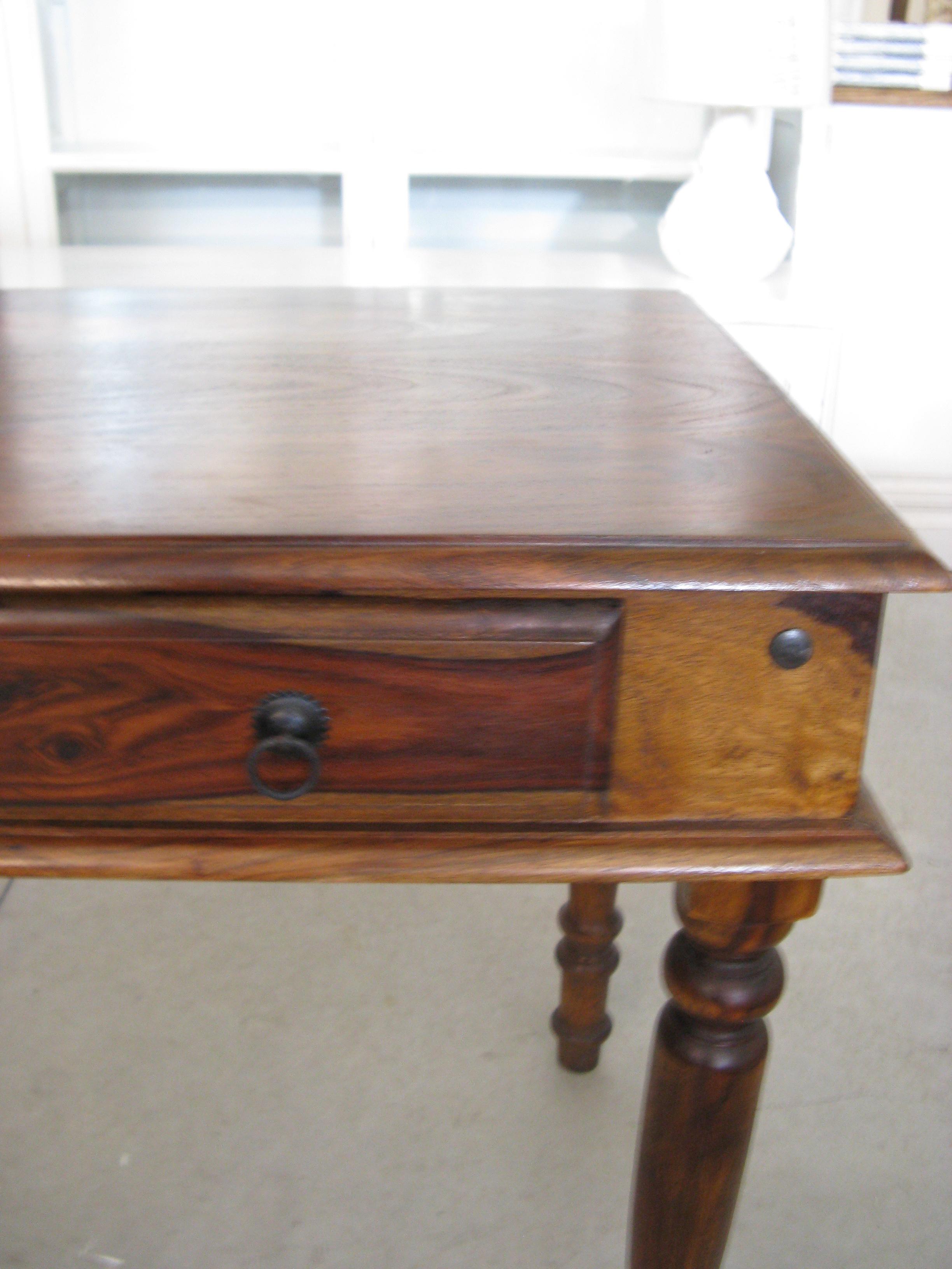 Tavoli di legno in palissandro indiano - Outlet ingrosso mobili ...