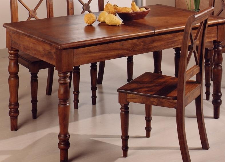 Sedia provenzale legno teak etnico outlet mobili etnici for Sedia a dondolo provenzale