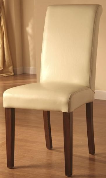 Sedia in ecopelle avorio sedie pelle beige for Sedie in ecopelle