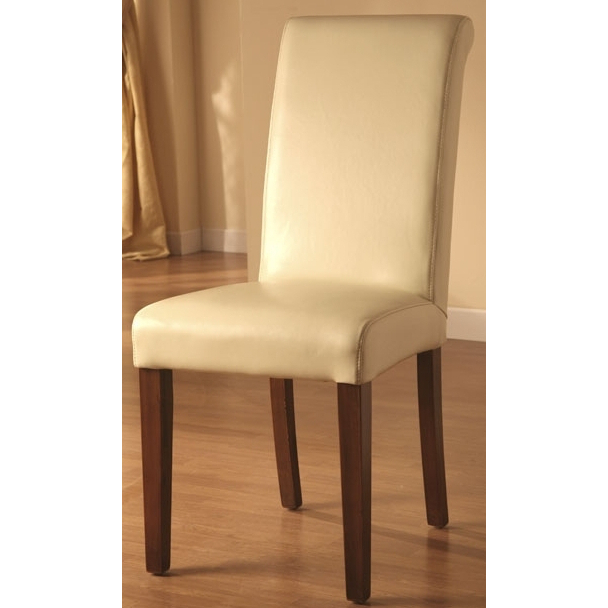 sedia in ecopelle avorio sedie pelle beige