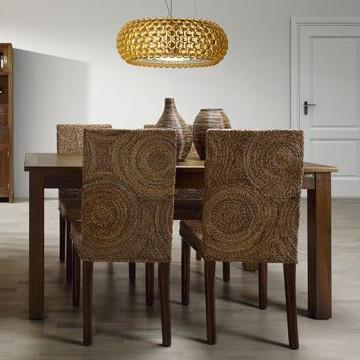 Sedia in banano intrecciato - Etnico Outlet sedie etniche