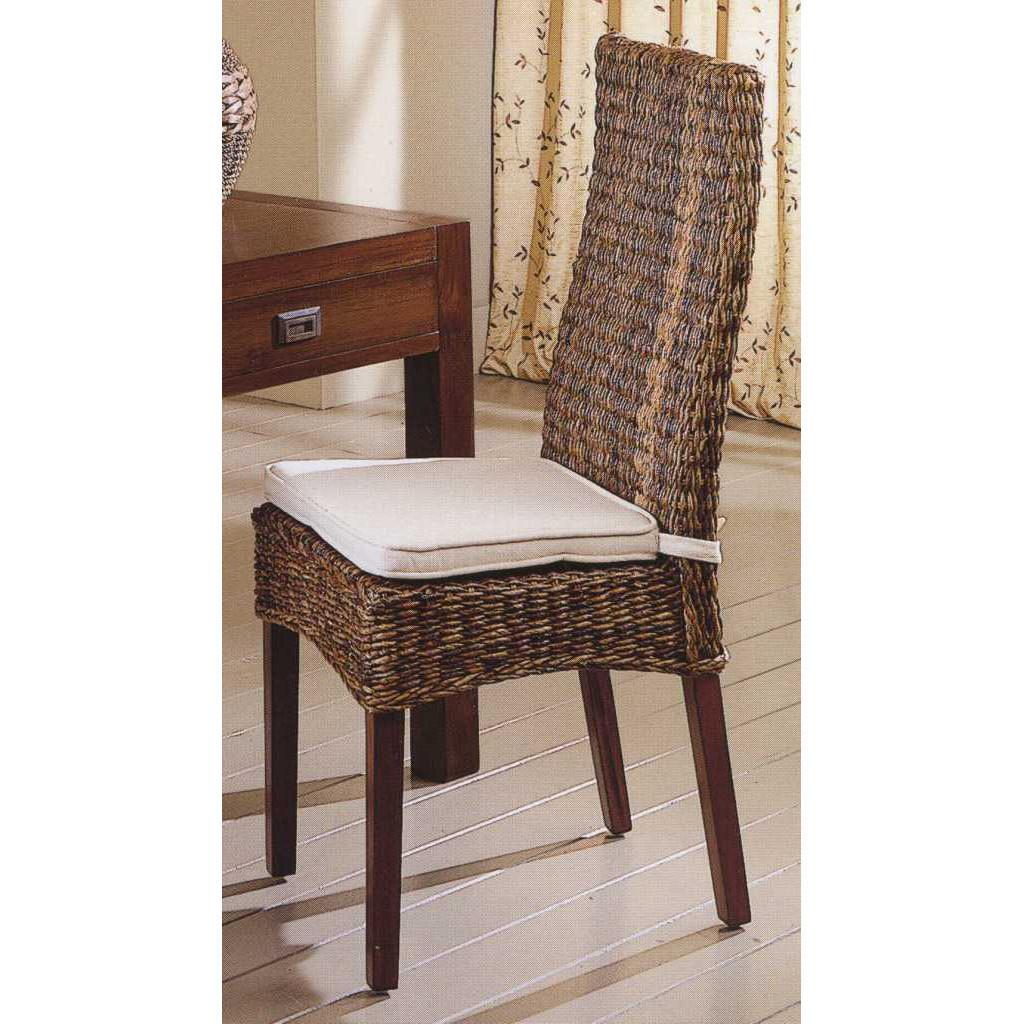 Sedia in banano sedie etniche online - Sedia in rattan ...