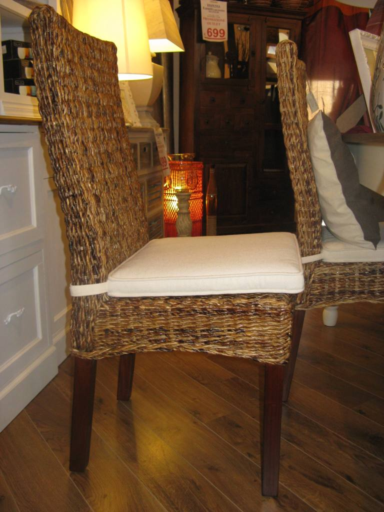 Sedia in banano sedie etniche online for Sedie design outlet online