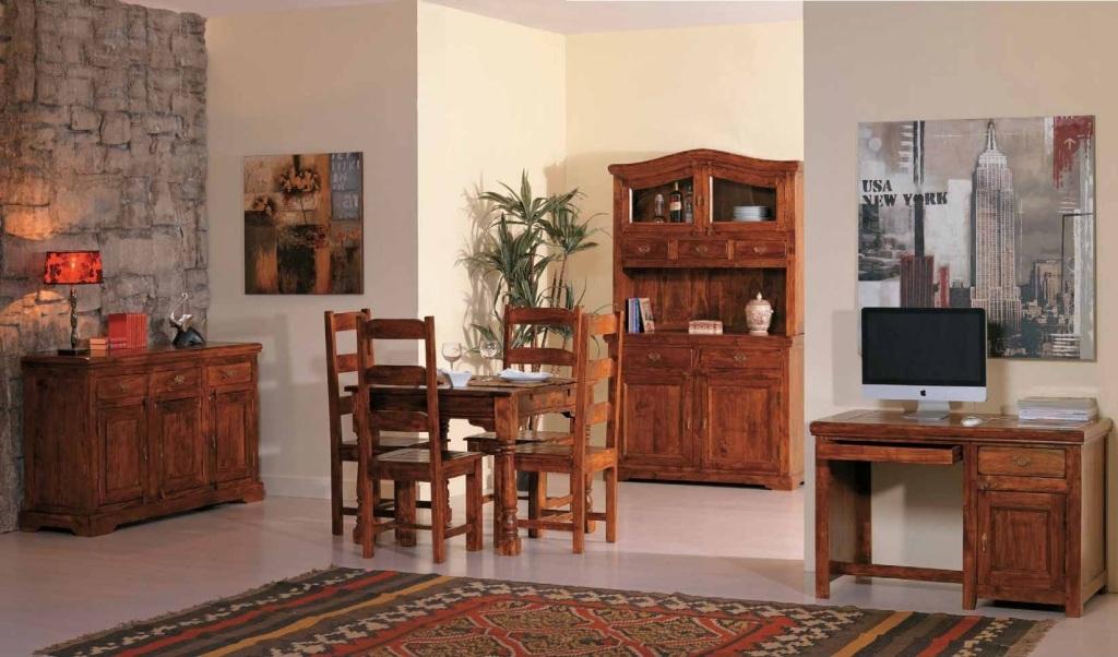 Sedia country legno etnico outlet mobili etnici - Mobili da soggiorno arte povera ...