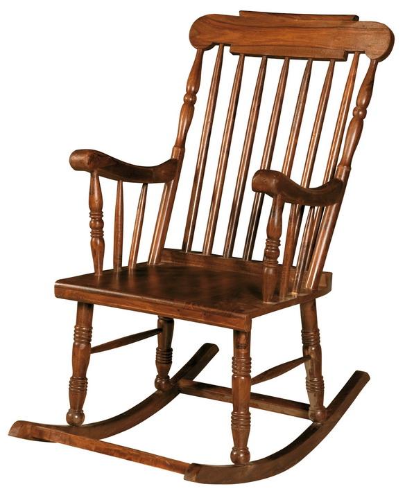 Sedia dondolo in legno dondoli legno for Sedie a dondolo