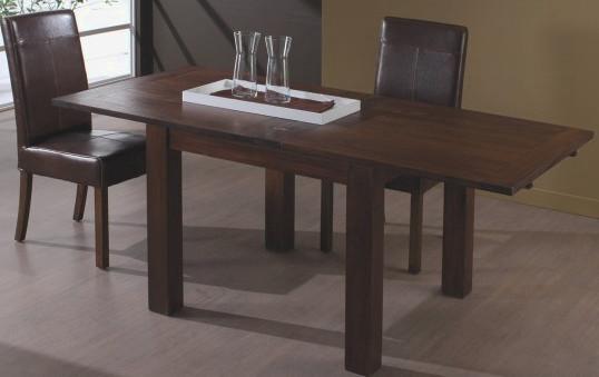 Tavolo etnico 90x 90h78 legno massello allungabile a 180 tavoli etnici spl100392 ebay - Tavolo quadrato allungabile legno massello ...