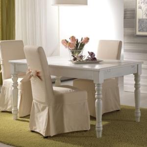 Tavolo soggiorno shabby idee per il design della casa - Copridivano shabby ikea ...