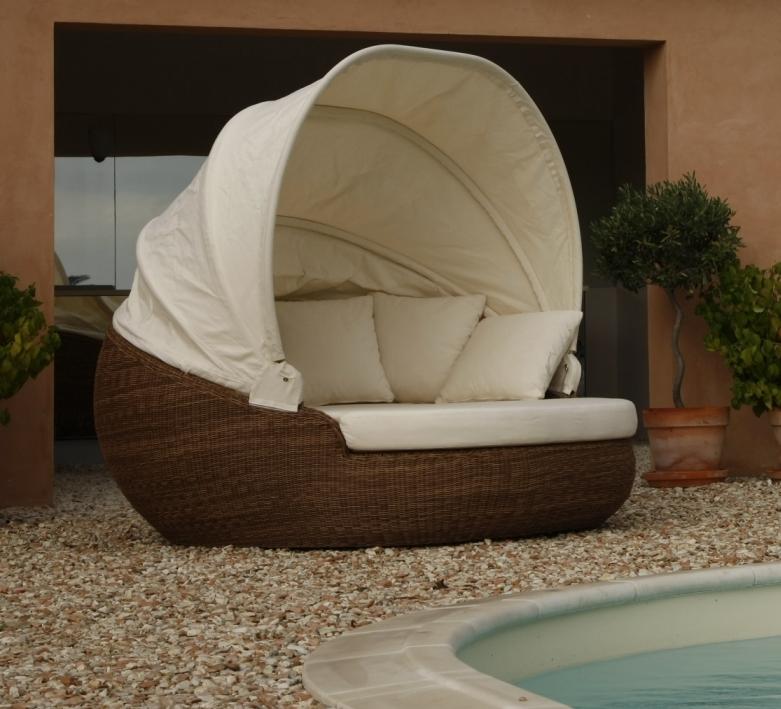 Letto da giardino bronze etnico outlet mobili etnici - Mobili giardino ...