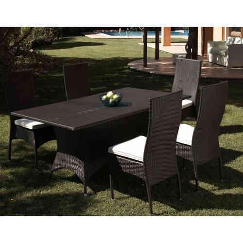 Set tavoli e sedie polyrattan offerte sconti 70 su etnico outlet - Offerte tavoli da giardino ...