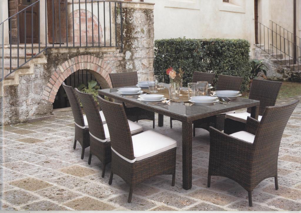 Tavoli da giardino rattan sintetico mobilia la tua casa for Costruisci la tua casa personalizzata