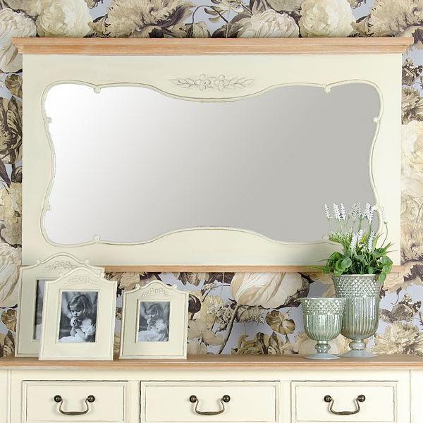 Specchio bianco provenzale - Specchio provenzale ...