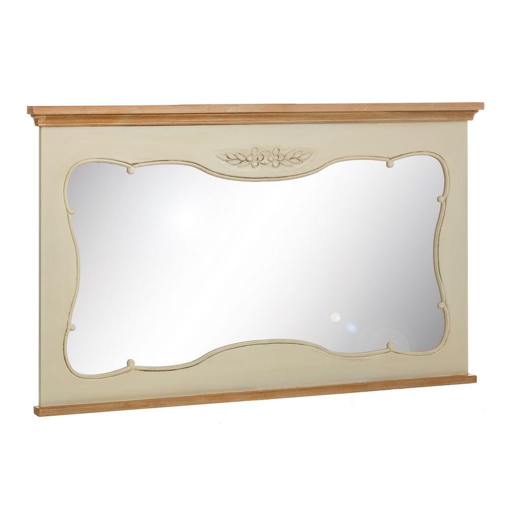 Specchio bianco provenzale etnico outlet mobili etnici - Specchio romantico riflessi prezzo ...