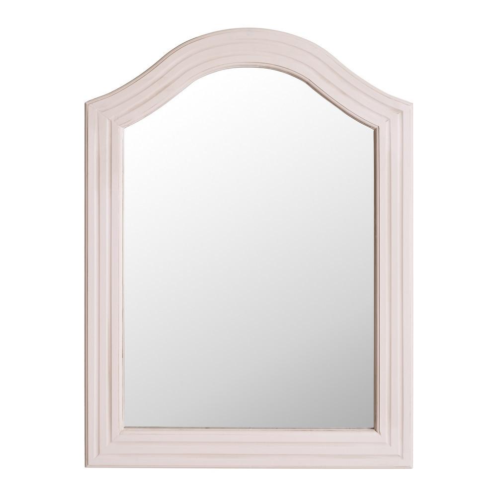 Specchio bianco provenzale etnico outlet mobili etnici - Specchio bianco ...
