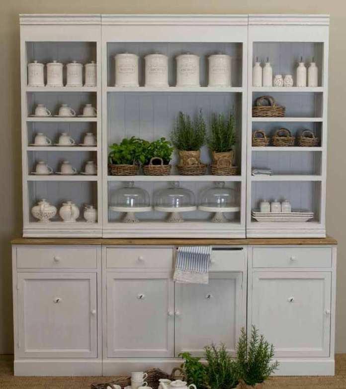 Arredamento stile shabby chic arredare interni ed esterni della casa credenze cucina shabby chic - Credenze per cucine ...