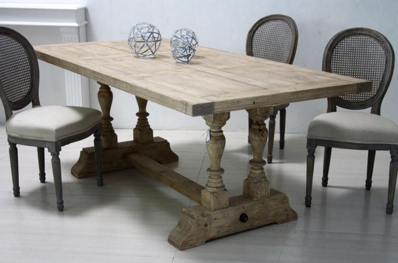 Tavolo legno shabby chic tavoli legno bianchi for Tavolo shabby chic ikea