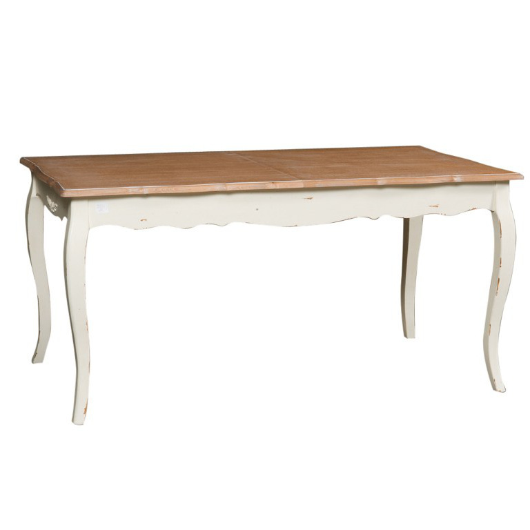 Tavolo provenzale bianco decapato - Etnico Outlet mobili ...