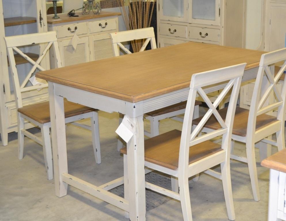 Tavoli Da Pranzo Shabby Chic : Tavolo da pranzo shabby chic soggiorno stile provenzale with