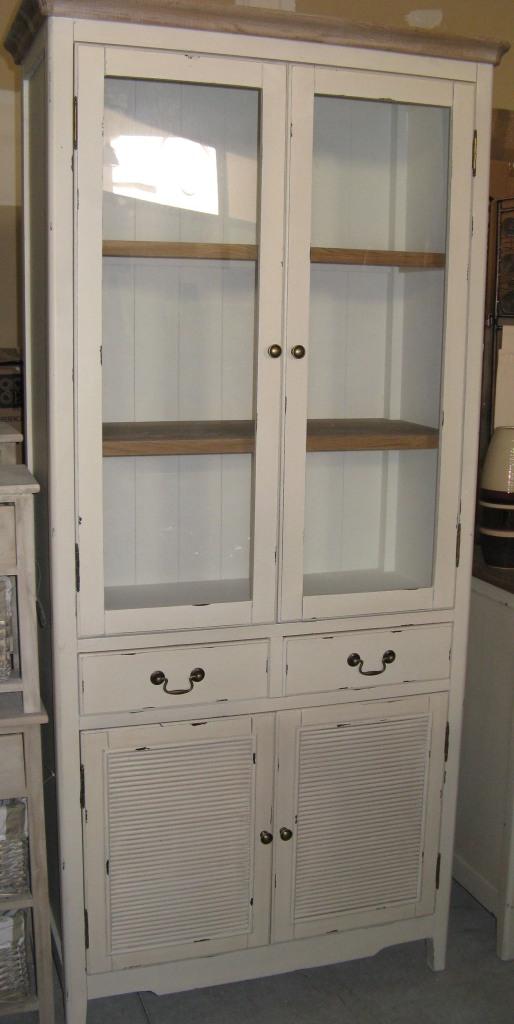 Color tortora beige - Cucina legno bianco decapato ...