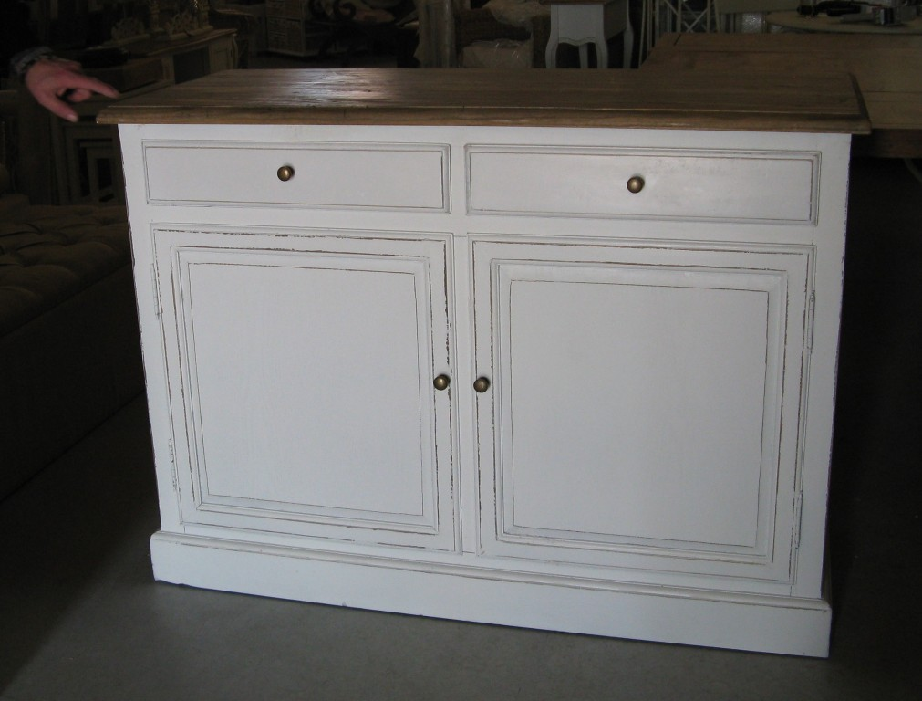 Buffet provenzale bianco shabby - Etnico Outlet mobili etnici