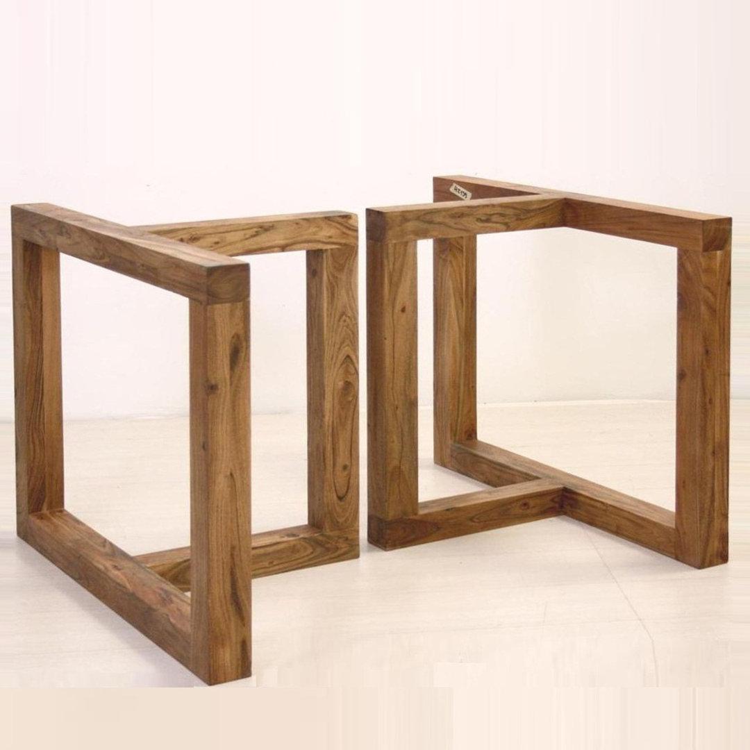 Base in legno per tavolo basi per tavoli legno for Tavolo da fumo fai da te