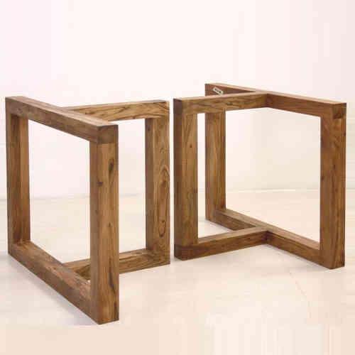 Base in legno per tavolo - Etnico Outlet Mobili Etnici