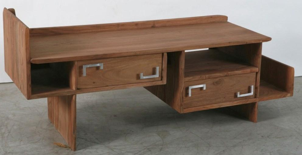 Porta tv legno di acacia mobili tv etnici online - Mobili per tv in legno ...