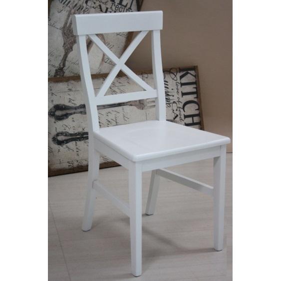 Sedia provenzale bianca mobili provenzali vendita online for Sedia a dondolo provenzale