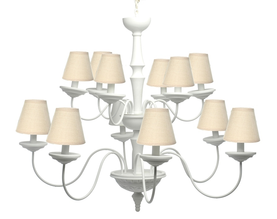 lampadari stile provenzale : lampadario maxi in legno bianco lampadario maxi in legno bianco e ...