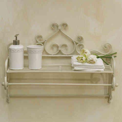 Arredo bagno ferro battuto bianco trattamento marmo cucina - Mobile bagno ferro battuto ...
