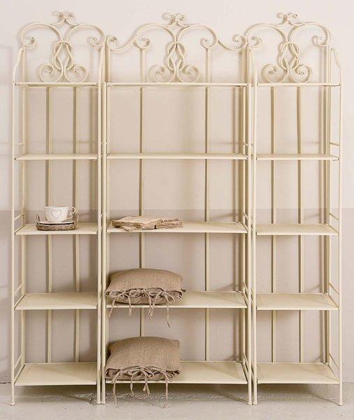 Composizione ferro battuto bianca etnico outlet mobili - Mobile bagno ferro battuto ...
