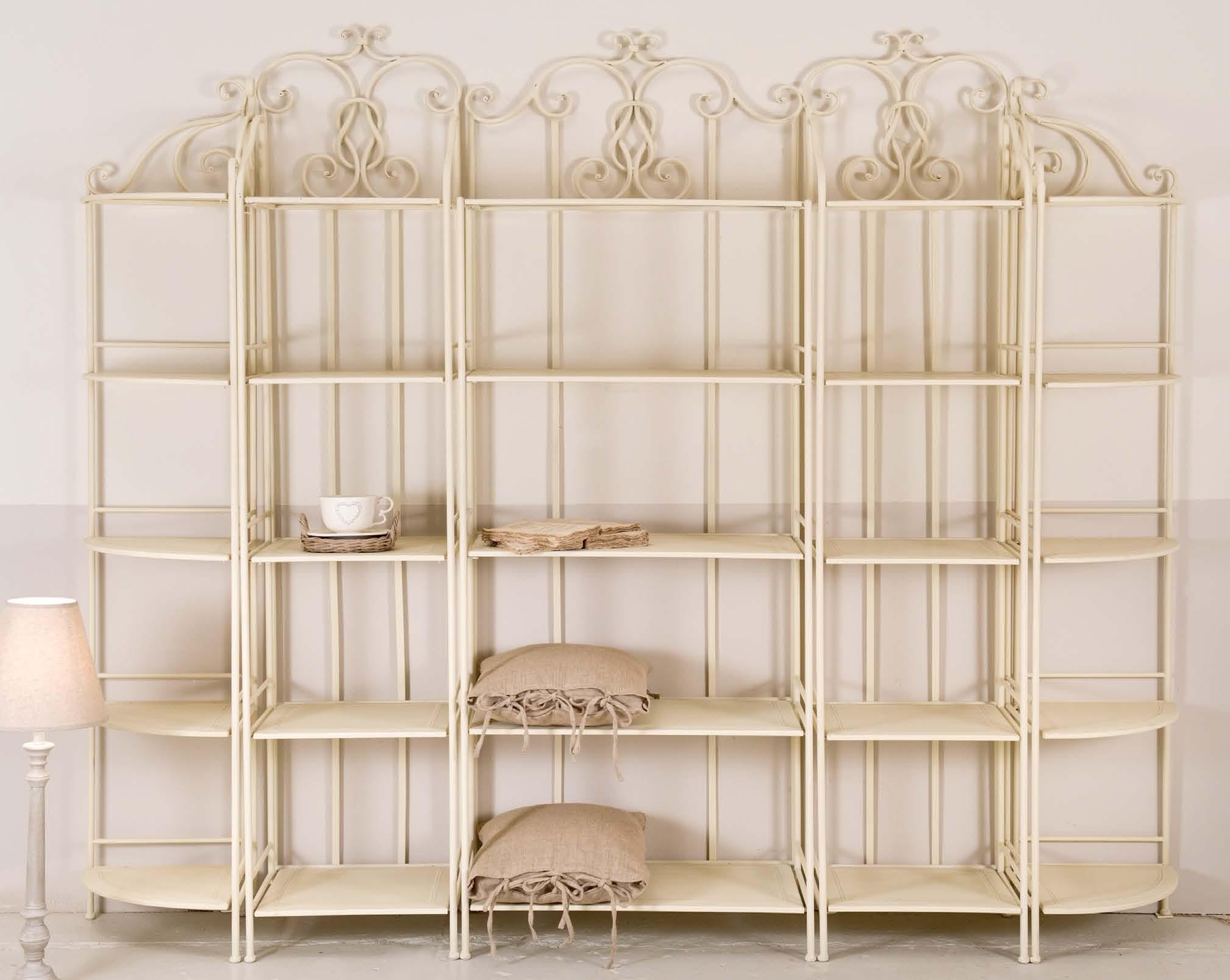 Composizione ferro battuto bianca maxi Outlet mobili etnici