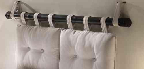 Testata bamb canna e cuscini testate letto etniche - Cuscini per testiere letto ...