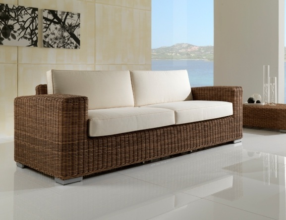 divani in rattan sintetico set salotto divani 3 posti 2