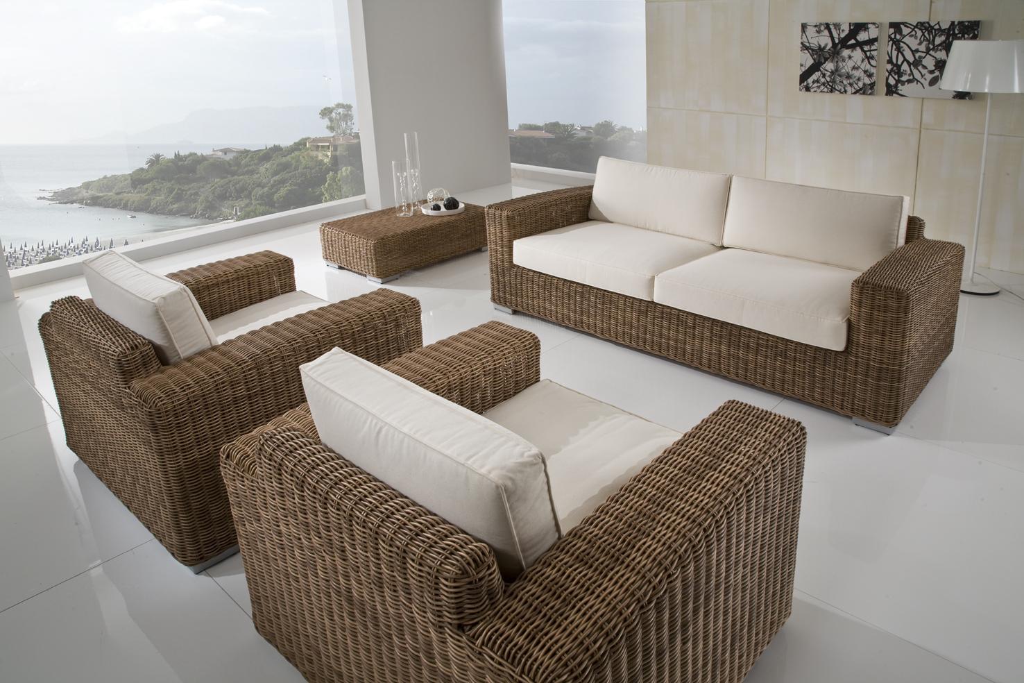Casa immobiliare accessori salotti da esterno offerte for Arredo giardino rattan offerte