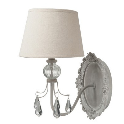 Applique lampada a muro barocca for Applique muro