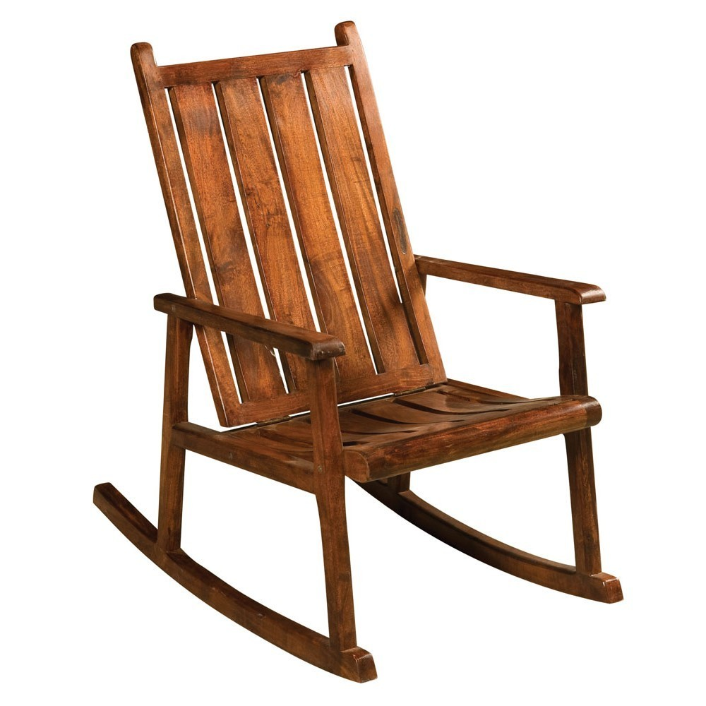 Sedia dondolo in legno massello sedie orientali online for Sedie a dondolo