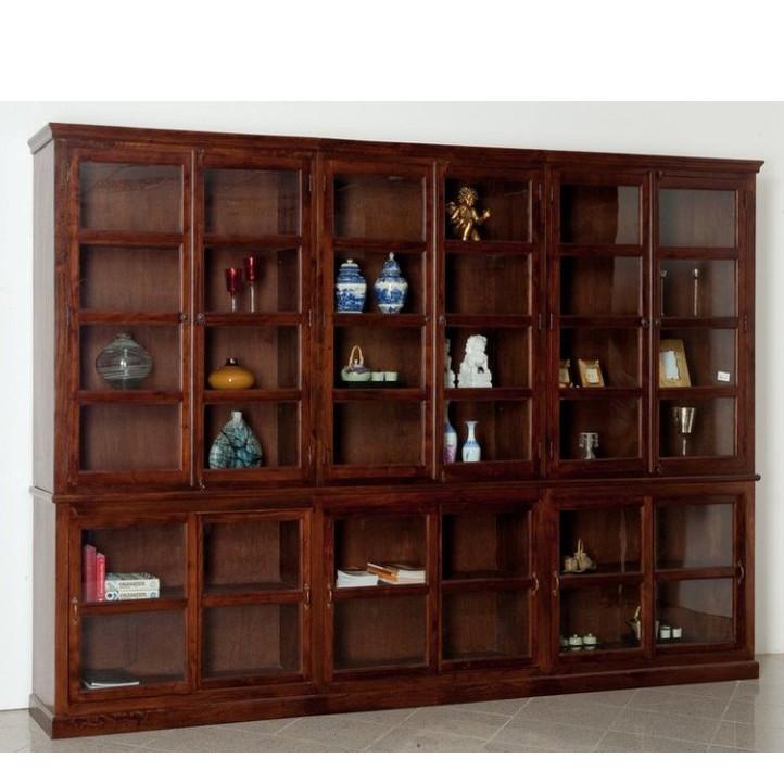 Libreria maxi legno massello etnica librerie etniche online for Libreria shop online