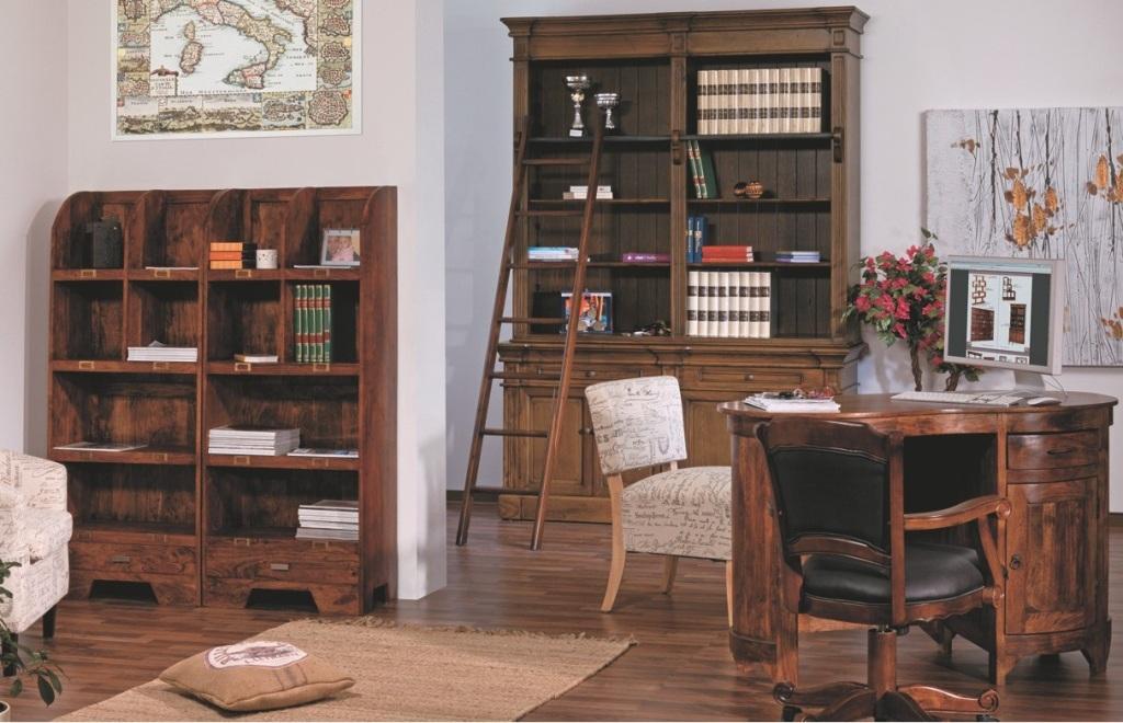 Libreria scaletta libreria in boiserie con scaletta - Laccare ante cucina ...