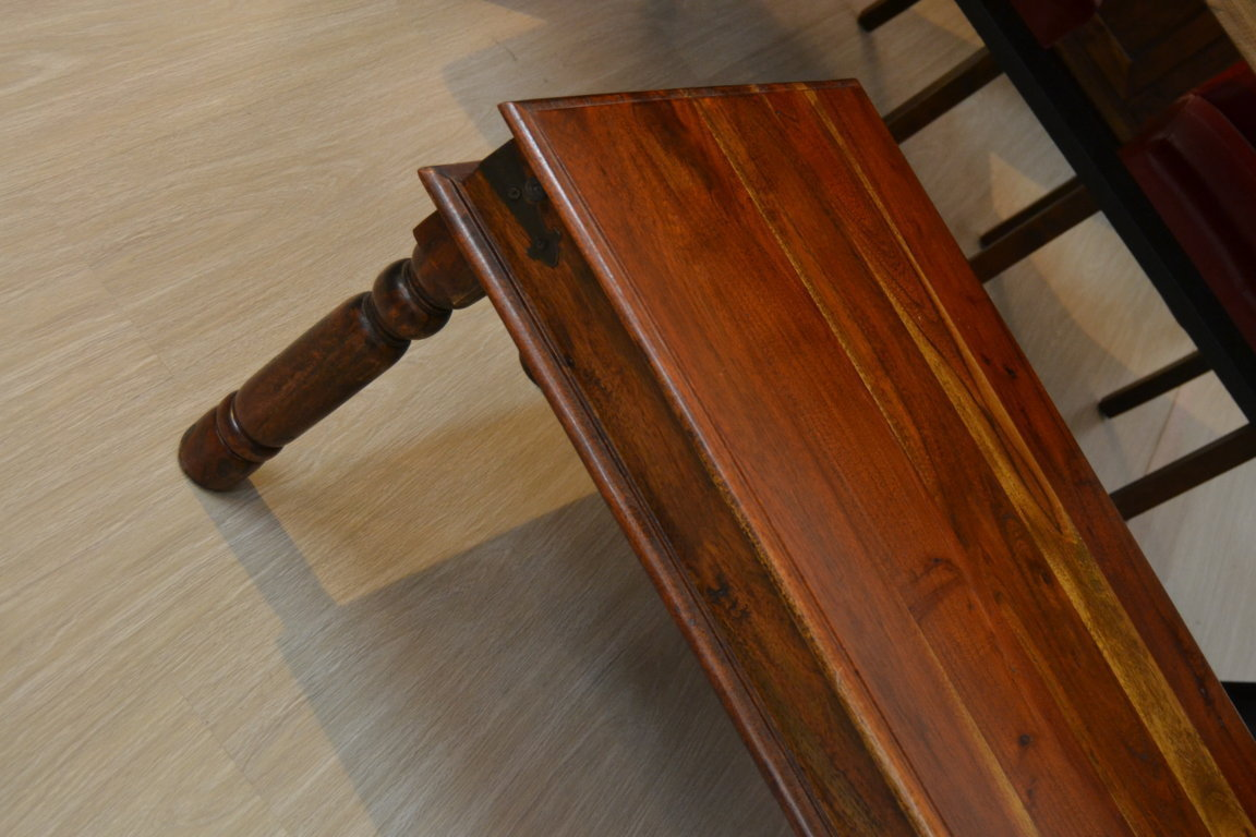 Tavolino etnico legno 90x60 etnico outlet mobili etnici for Tavolo 90x60