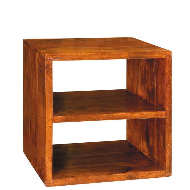 Cubo legno massello con ripiano - Mobili Etnici Provenzali Shabby ...