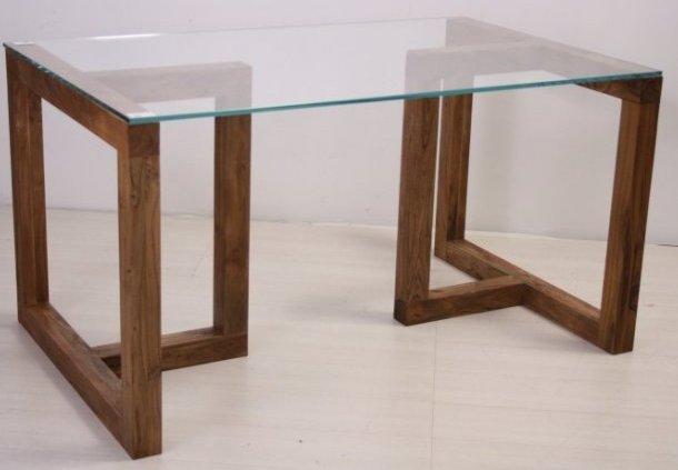 Tavolo con cristallo tavoli etnici contemporanei