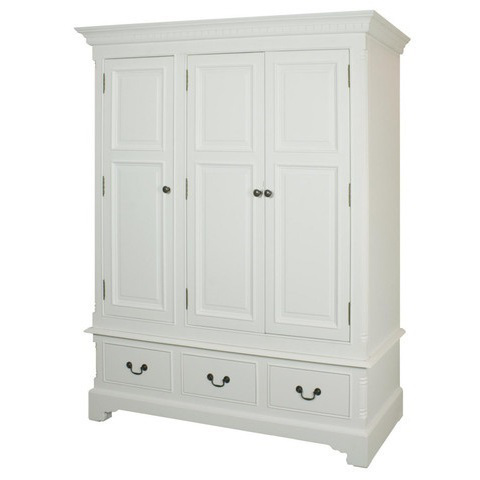 armadio legno bianco shabby chic n prodotto ethbb01 301 armadio in ...