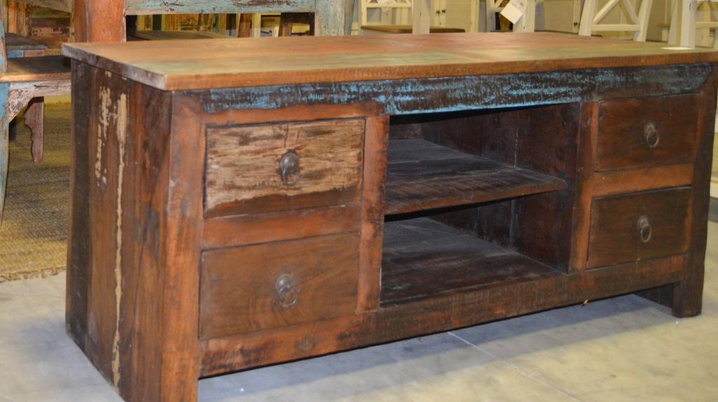 porta tv etnico stile vintage etnico outlet mobili etnici. Black Bedroom Furniture Sets. Home Design Ideas