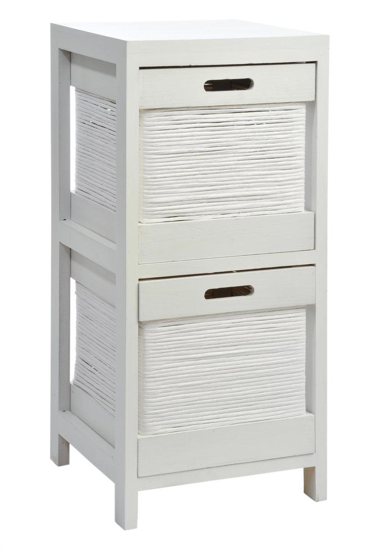 Mobiletto legno bianco shabby comodini legno bianchi - Mobiletti per bagno shabby ...