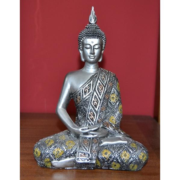 Molto Statua di buddha - Etnico Outlet Mobili Etnici KW78