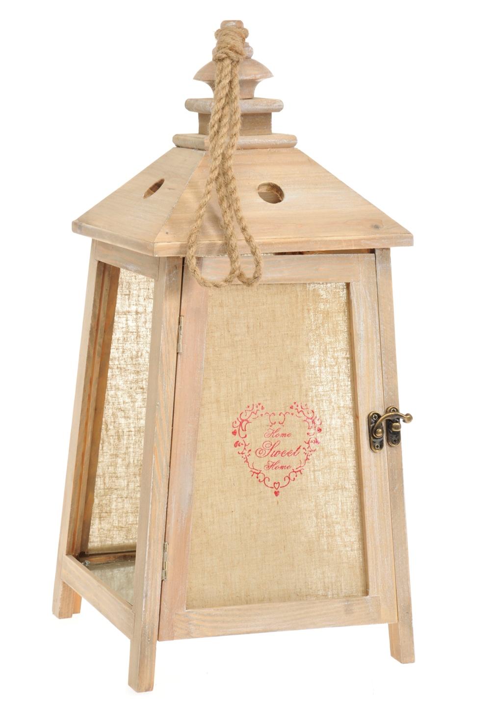 Lanterna provenzale legno lanterne provenzali shabby chic for Lanterne in legno