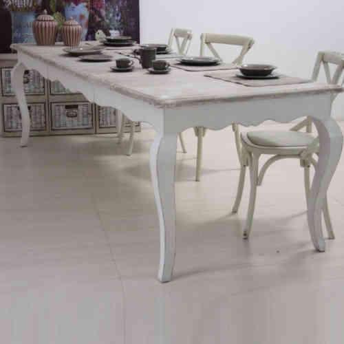Tavolo provenzale bianco allungabile tutte le immagini for Tavoli bianchi