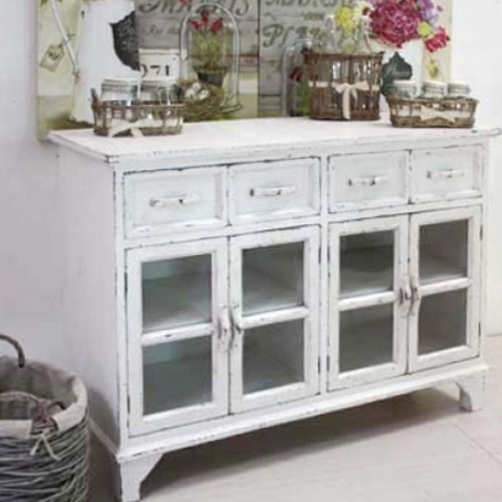 Buffet e credenze provenzali shabby chic on line etnico for Mobili outlet on line